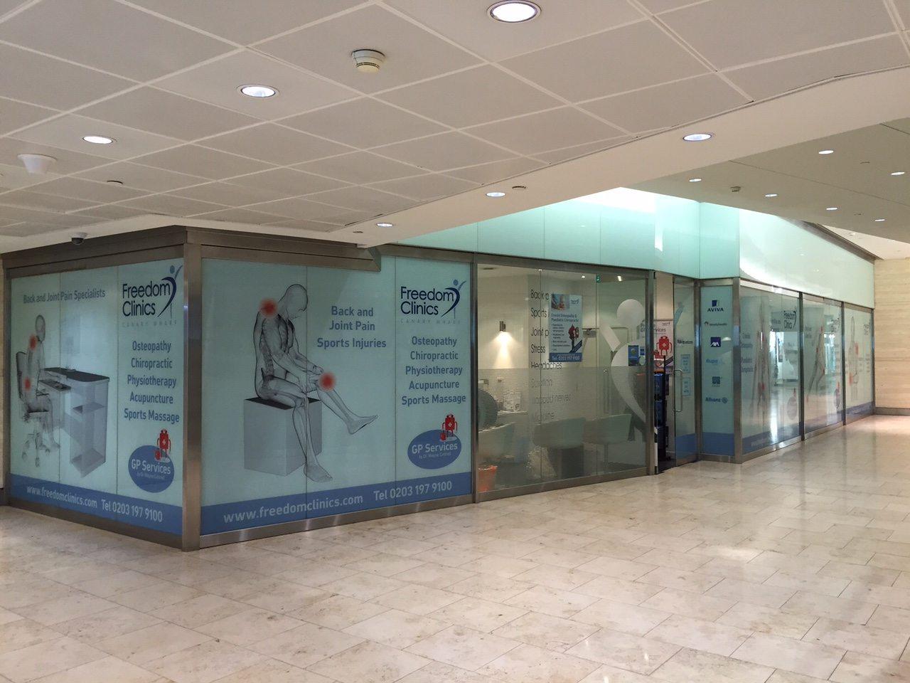 dr wayne cottrell clinic canary wharf london