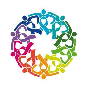 obesity - circle of ribbons - cancer research